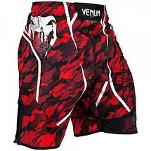 Шорти для MMA Venum Tecmo Fightshorts Red, фото 2
