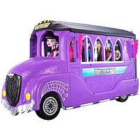Игровой набор Школьный автобус Делюкс для кукол Монстер Хай - Monster High Deluxe Bus FCV63, фото 2