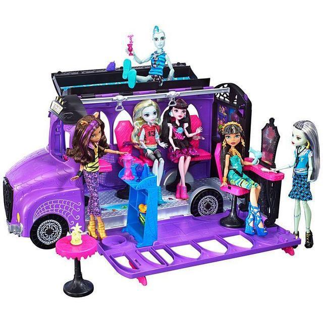 Игровой набор Школьный автобус Делюкс для кукол Монстер Хай - Monster High Deluxe Bus FCV63