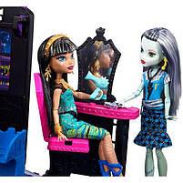 Игровой набор Школьный автобус Делюкс для кукол Монстер Хай - Monster High Deluxe Bus FCV63, фото 4