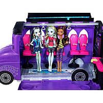 Игровой набор Школьный автобус Делюкс для кукол Монстер Хай - Monster High Deluxe Bus FCV63, фото 5
