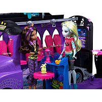 Игровой набор Школьный автобус Делюкс для кукол Монстер Хай - Monster High Deluxe Bus FCV63, фото 6