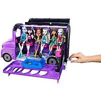 Игровой набор Школьный автобус Делюкс для кукол Монстер Хай - Monster High Deluxe Bus FCV63, фото 9