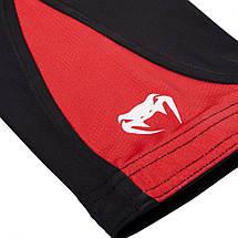 Компрессионные штаны Venum Challenger Spats Black Red, фото 3