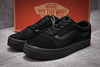Кроссовки женские Vans Old Skool, черные (12931),  [   36 38 39 41  ]