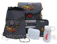 Ранец ортопедический McNeill Dark Race Ergo Light Basic на 5 предметов