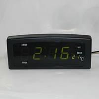 Часы сетевые настольные CX-818 green