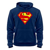 Толстовки кенгурушки свитшоты superman