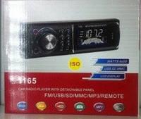 Автомагнитола MP3 1165 с евро фишка и съемной панелью (Арт. )
