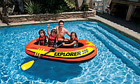 Надувная лодка EXPLORER 300 (211X117X41 СМ.) + ВЕСЛА, НАСОС (Арт. 58332)