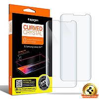 Защитная пленка Spigen для Samsung S8 Plus + поклейка в подарок  , фото 1