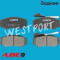 Тормозные колодки ABE Nissan CABSTAR Nissan NT400 CABSTAR Задние Дисковые Под датчик износа C21051ABE