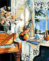 Картина по номерам ArtStory В гостях у музыки 40 х 50 см (арт. AS0201), фото 1