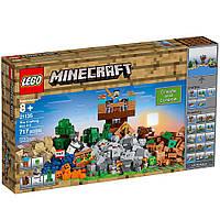 Конструктор Лего Верстак 717 деталей LEGO Minecraft the Crafting Box Building Kit21135