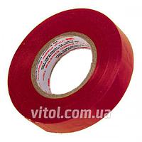 Изоляционная лента 3М (3М 9260), 19мм х 18м, красная, ПВХ, изолента, липкая лента, изоляционный материал, электроизоляционная лента
