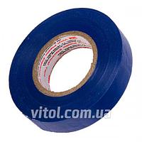 Изоляционная лента 3М (3М 9257), размеры 19 мм х 18 м, синяя, ПВХ, изолента, липкая лента, изоляционный материал, электроизоляционная лента