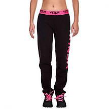 Женские спортивные штаны Venum Infinity Pants Black Pink, фото 2