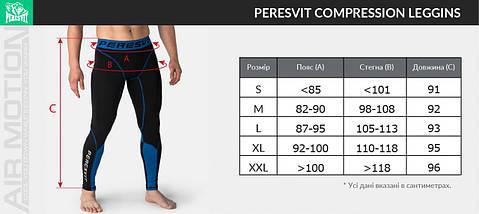 Компрессионные штаны Peresvit Air Motion Compression Leggins Black Red, фото 3