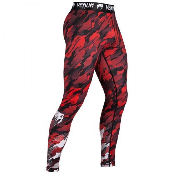 Компрессионные штаны Venum Tecmo Spats Red