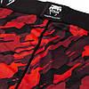 Компрессионные штаны Venum Tecmo Spats Red, фото 2