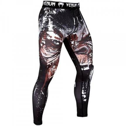 Компрессионные штаны Venum Gorilla Spats Black, фото 2