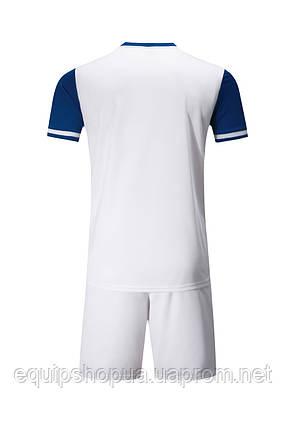 Футбольная форма Europaw 019 бело-синяя, фото 2