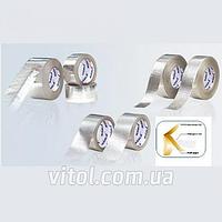 Скотч алюминиевый армированный для изоляции MH-0958, квадратная сетка, длина 50 м, алюминиевая клейкая лента, армированная липка лента