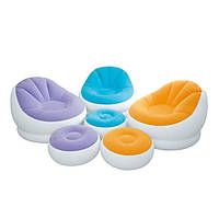 Надувное кресло с пуфиком Intex 68572