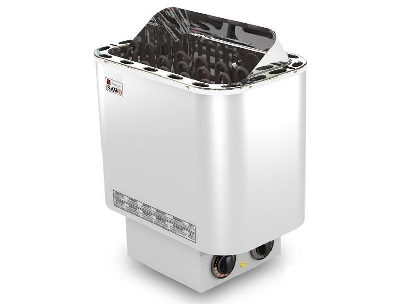 Электрокаменка SAWO Nordex NR NB (4,5-9 кВт) со встроенным пультом управления