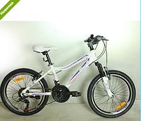 Детский сортивный  велосипед 20 дюймов PROFI G20CARE A20.3 белый  12 рама ***