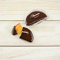 """Набор элитных шоколадных конфет """"Апельсин в черном шоколаде"""". Вес 170г, фото 1"""