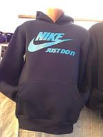 Мужская спортивная толстовка Nike трехнитка