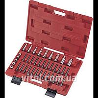 Комплект инструментов для разборки стоек TJG (В2008), универсальный, в пластиковом кейсе, комплект автоинструмента для разборки стоек