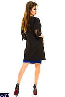 Платье S-3214 (48, 50, 52, 54, 56) — купить Платья XL+ оптом и в розницу в одессе 7км