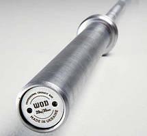 Гриф для кросфіту універсальний WOD (220 см, 30 мм, 20 кг)