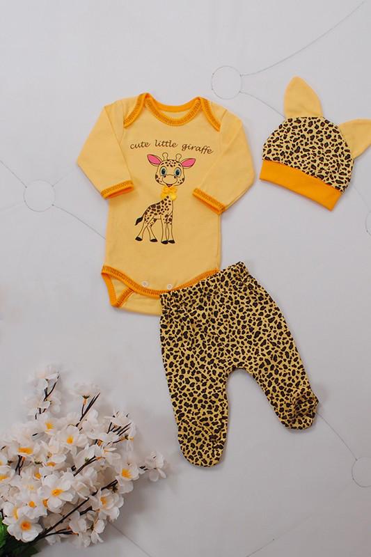 Комплект детский для мальчика (100% хлопок) на рост 50-74 см