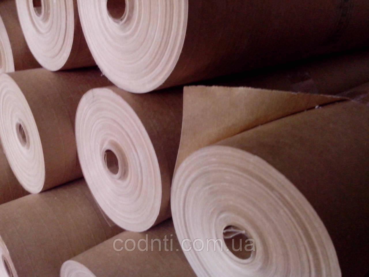 Размотка больших рулонов строительной бумаги
