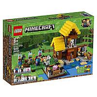 Конструктор ЛегоФермерский домик 549 деталей LEGO Minecraft the Farm Cottage Building Kit21144