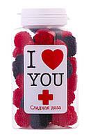 Конфеты сладкая доза Любовь,подарки для женщин