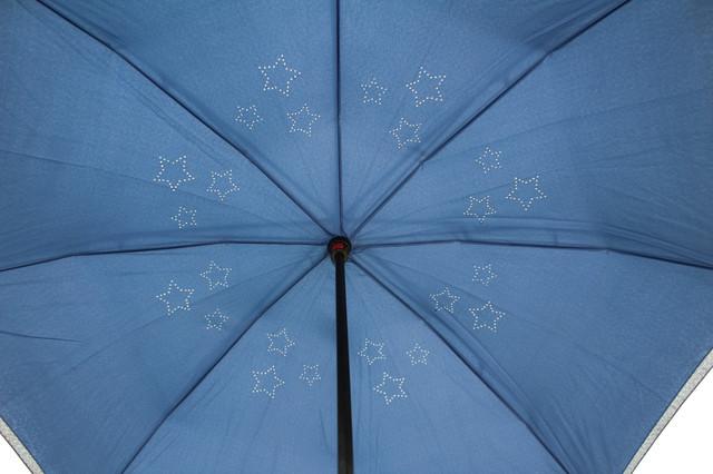 Надежный механизм ветрозащитного зонта UP-Brella