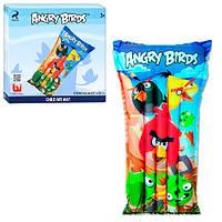 Матрац,матрас надувной  Angry Birds, от 3-х лет, в коробке