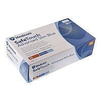 Перчатки нитриловые неопудренные Blue Medicom(100 шт.) ,,XS,,