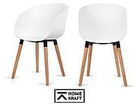 Офисное кресло вращающееся MEBO HOMEKRAFT 2 шт. белые