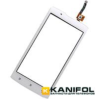 Тачскрин (сенсор) Lenovo A20-10 (A2010) Белый