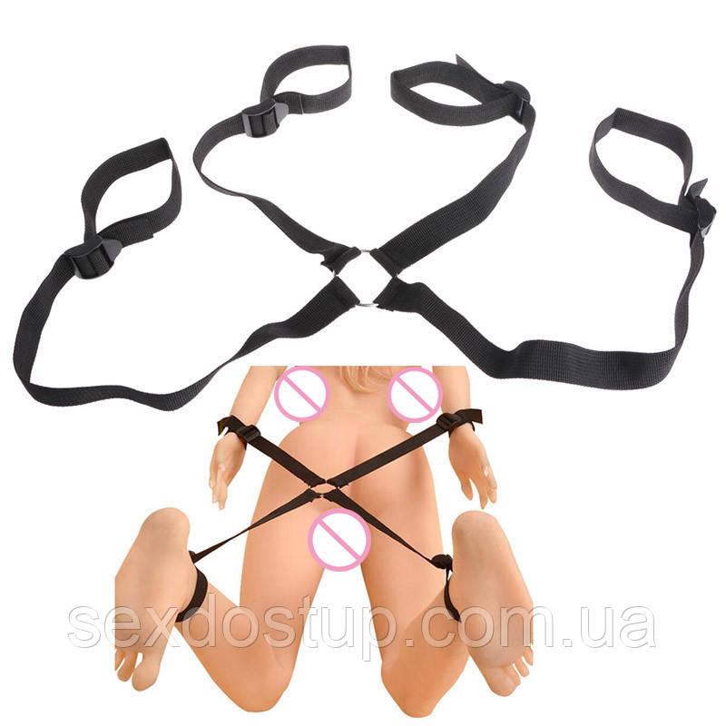Комплект для бандажа, ремни для фиксации ног и рук