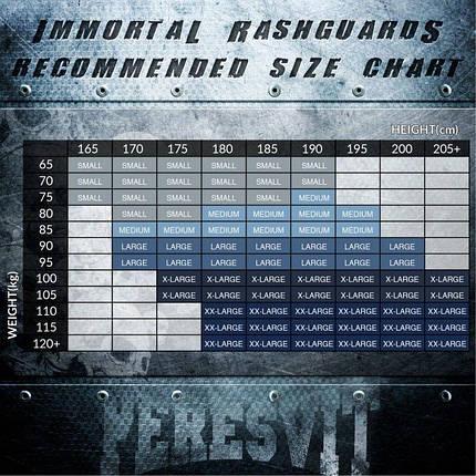 Рашгард Peresvit Immortal Silver Force Rashguard Short Sleeve Red Burn, фото 2