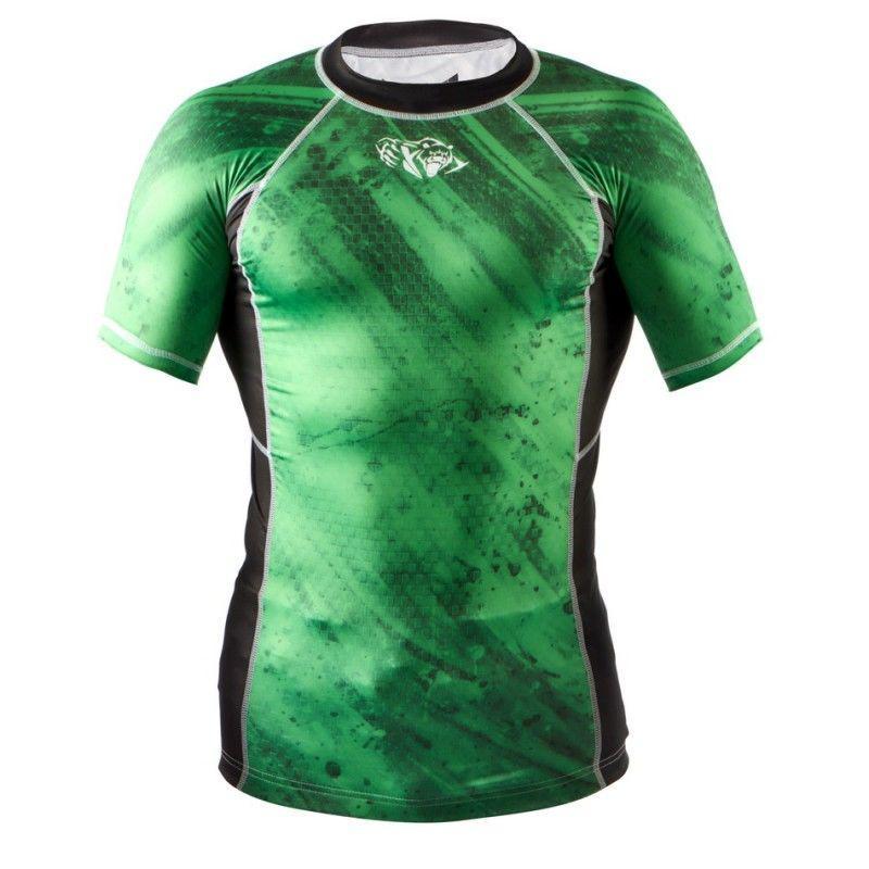 Рашгард Peresvit Immortal Silver Force Rashguard Short Sleeve Green La