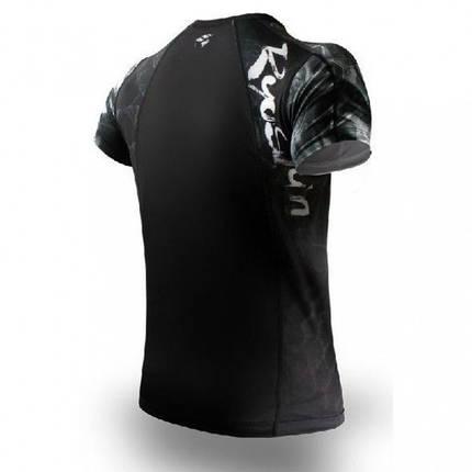 Рашгард PunchTown Ryushin Black Rash Guard Short Sleeve, фото 2
