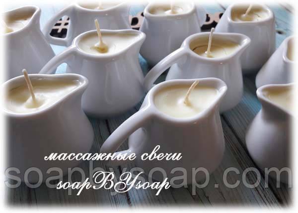 Процесс изготовления массажных свечей