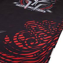 Рашгард Venum Gladiator Rashguard Long Sleeves Black Red, фото 3